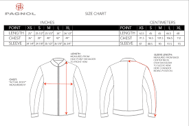 Neck And Sleeve Size Chart Pagnol Motor Pagnol Size Chart Journal
