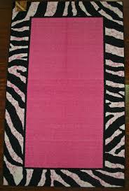 zebra area rug. Pink And Black Zebra Area Rug