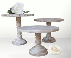 antique 3 tier wooden cake stand uk designs