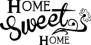 Small Picture Home Sweet Home Vinyl Sticker TenStickers