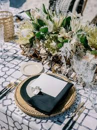 Designer Wedding Linens Noir Eleuthera Table Linen The Designer Series In 2019