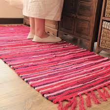Honana 50 80cm Cotton Linen Carpet Kitchen Long Mat Bedroom