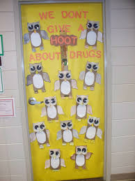 classroom door decorations for fall. Drug Free Door Decorating Classroom Decorations For Fall E
