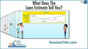Trid Laws What Will The Trid Loan Estimate Tell Me John P White P A