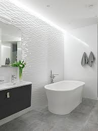 modern white bathroom. Fascinating Bathroom Guide: Alluring Contemporary White Christopher Grubb HGTV Of Modern From
