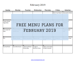 Monthly Dinner Planner Monthly Meal Plans Archives Mom Saves Money