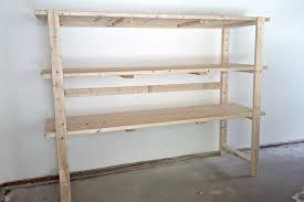 2x4 diy shelving storage unit