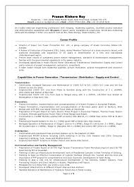 cool power plant electrical engineer resume sample 60 about