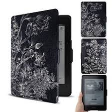 ores kindle voyage colorful painting leather case cover the thinnest and lightest pu leather