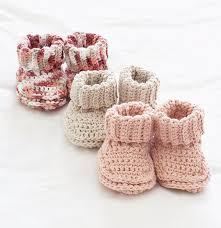 Crochet Booties Pattern Amazing Mary Maxim Free Knit Or Crochet Baby Booties Pattern