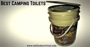 5 best portable camping toilets to