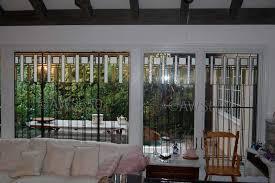 andersen art glass in 26 window wall