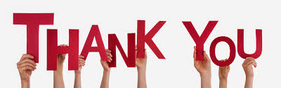 Image result for we thank you