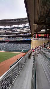 Printable Target Field Seating Chart Minnesota Twins Seating Guide Target Field Rateyourseats Com