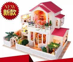 tiny times pastoral style large scale diy doll house 3d miniature lightmusic box aliexpresscom buy 112 diy miniature doll house
