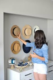 ... Hat wall ideas, how to style a buffet, affordable home decor ideas - My  ...