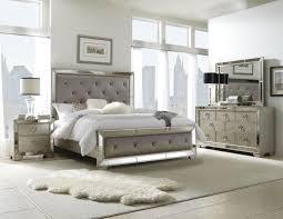 King Bedroom Suits Pulaski Farrah 4 Piece Panel Bedroom Set In Metallic
