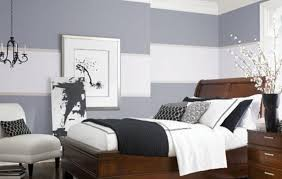 relaxing bedroom colors. Relaxing Bedroom Ideas With Wooden Bed And Soft Grey Wall Color Colors S