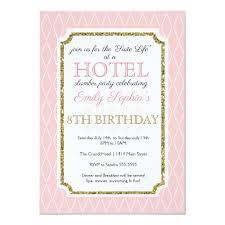 Hotel Party Invitation