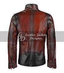 Leather Jacket With Design On Back X Men Origins Mens Lambskin Leather Jacket
