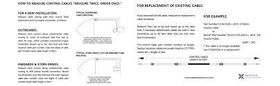 amazon com seastar ccx633xx xtreme 3300 33c type control cable view larger