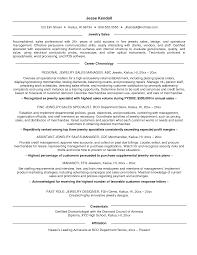 Sample Salesperson Resume Jewelry Salesperson Resume Sample Salesperson Resume
