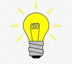 incandescent light bulb lamp clip art cartoon light switch
