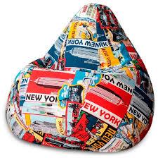 <b>DreamBag Кресло</b>-<b>мешок New York</b> XL — купить по выгодной ...