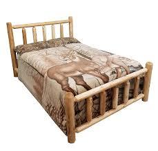 Michigan Rustics Rustic Log Bed Twin, Full, Queen, King (Full)