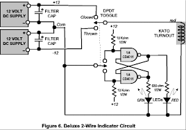 turnout indicators for switch motors trainsafrica stall motor circuit w single power supply