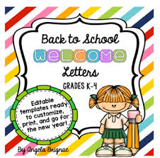 School Letters Templates Back To School Welcome Letter Template Free For A Limited Time