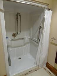 roll in shower stall roll in handicapped shower design temporary temporary shower stall