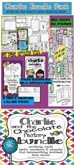 best charlie the chocolate factory images charlie and the chocolate factory bundle math centers writing unit ela