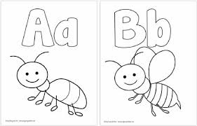 I hope these coloring sheets will help english teachers make their. Free Printable Alphabet Coloring Pages Easy Peasy And Fun