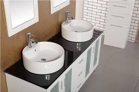 double sink bathroom vanity with top. malibu double vessel sink vanity bathroom with top s