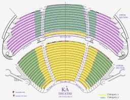 Foxwood Mgm Grand Seating Chart La Nouba Seat Map Foxwoods
