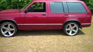 My 1994 Chevy S10 Blazer - YouTube