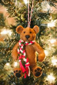 Teddy Bear Christmas Ornament. christmas-bear-02