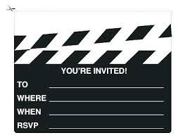 Movie Night Invitation Template Free Luxury Movie Night Party Invitation Template Free And Movie Party