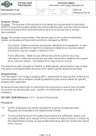 Writing Instructions Template Work Instruction Template Image Collections Form Safe Example Page 1