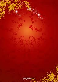 Chinese <b>New Year</b> Red Floral <b>Pattern</b> Background, Floral, Golden ...