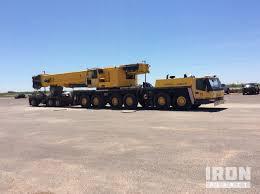 Grove 165 Ton Crane Load Chart 2010 Grove Gmk6350 All Terrain Crane In Odessa Texas