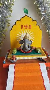 ganesh chaturthi decoration ideas ganesh pooja decor shri