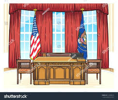 Decoration White House Oval Office Desk The Of President United for