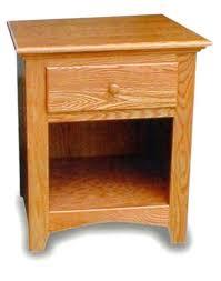 Captivating Oak Night Stands Bedroom Open Shaker Night Stand Zoom Solid Wood Nightstands  .