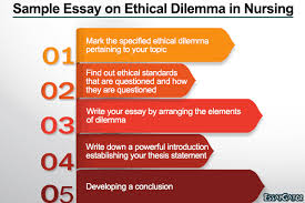 case study of an ethical dilemma ethical dilemma in nursing ethical dilemma in nursing essay example
