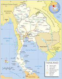 Odyssey Thailand-admin-map Asian Thailand-admin-map Asian Odyssey