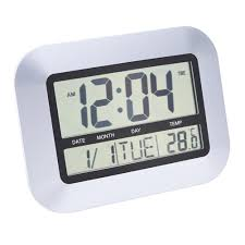 2018 multi function atomic digital home decor wall clock indoor temperature date from natal 27 58 dhgate com