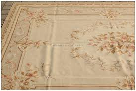 aubusson rug 6x9 antique french pastel
