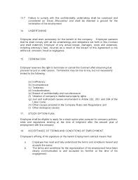 Sample Termination Letter For Contract Employees Employee To ...